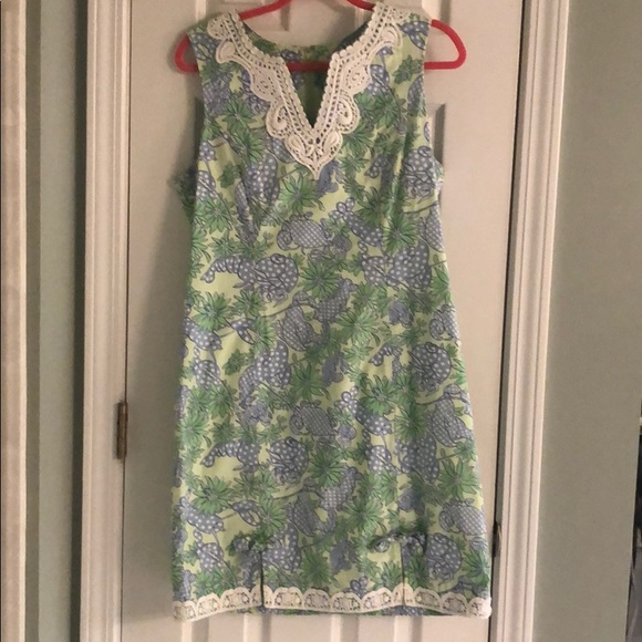 Lilly Pulitzer Dresses & Skirts - Lilly Pulitzer seafood crab salad 10 shift